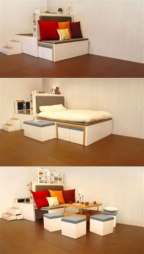 multipurpose bedroom furniture for small spaces 17 multi purpose furniture that changes function in no time