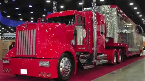 how are truck shows mid america truck 2014 custom semi trucks