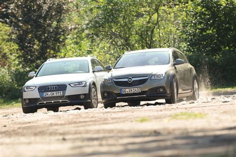 audi which country audi a4 allroad vs opel insignia country tourer test