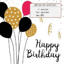 birthday cheque template 13 free printable gift certificate templates birthday
