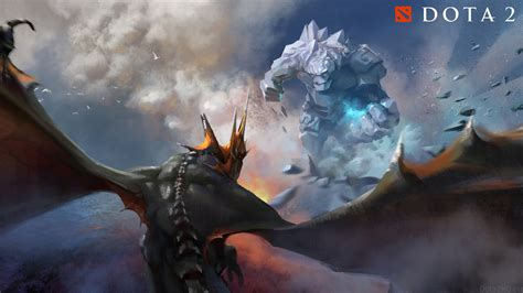 dota 2 vs wallpaper tiny vs dragon knight wallpaper dota 2 wallpapers
