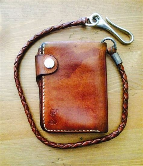 Handmade Biker Wallet - 17 best images about motorcycle wallet on