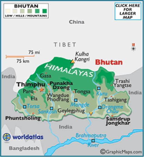 five themes of geography bhutan geography of bhutan world atlas