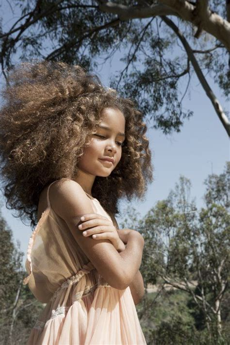 beautifull biracial kida gallary 272 best curly frizzy hairstyles images on pinterest