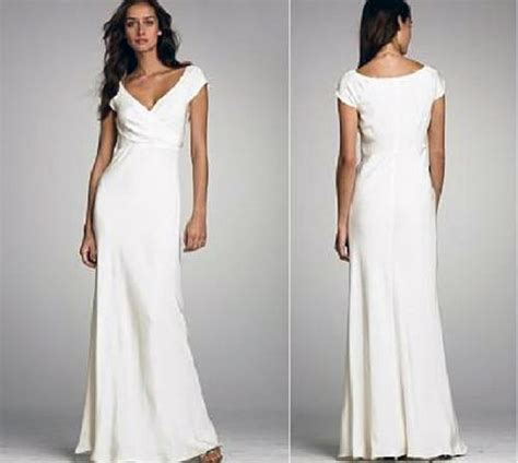 White Beach Wedding Dresses Casual Images