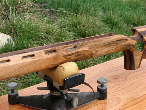 bench rest stocks ambrosia maple walnut cherry benchrest rifle stock by