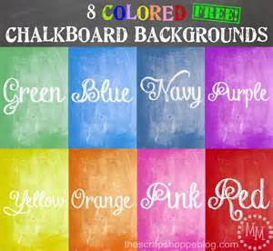 color chalk 8 colored chalkboard backgrounds the scrap shoppe