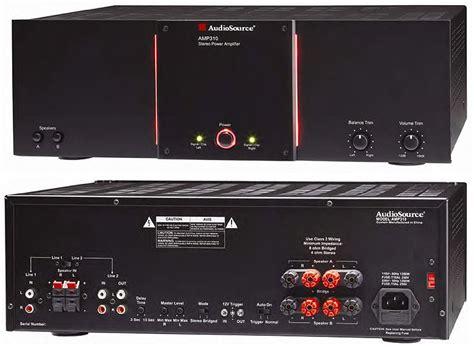 amazoncom audiosource amp   watt stereo  watt