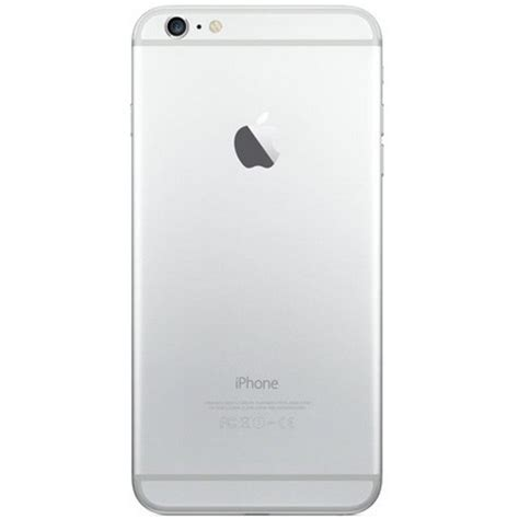 apple iphone 6 plus 64gb silver a1522 excellent used at t or cricket smartphone for sale