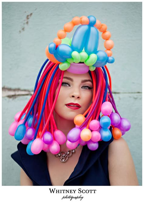 Balloon hats they re all the rage in paris whitney scott photography