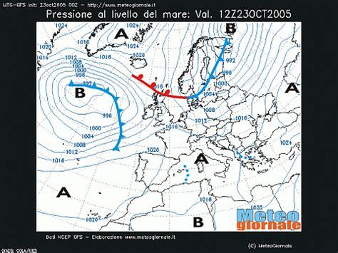 lade alta e bassa pressione alta pressione e pioggia temporali nubifragi il tempo