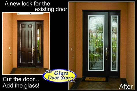 Adding Glass To Front Door Uye Home Replacement Entry Doors
