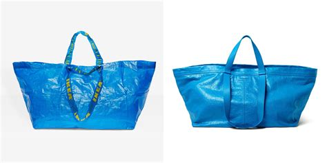 ikea bags ikea had a great reaction to balenciaga making a 2 145