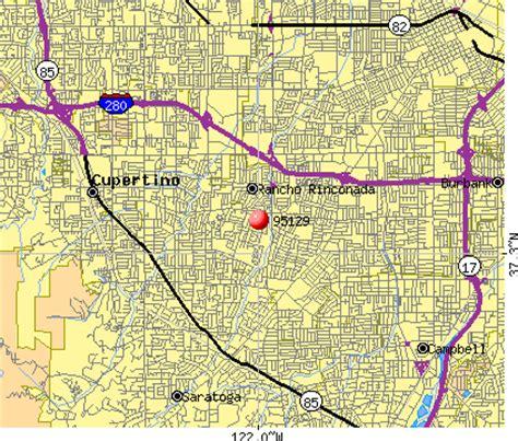 san jose income map 95129 zip code san jose california profile homes