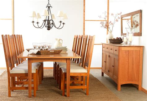 shaker dining room set modern shaker dining room set vermont woods studios
