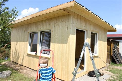 Gartenhaus Fundament Bauen by Fantastische Ideen Gartenhaus Mit Osb Platten Selber Bauen