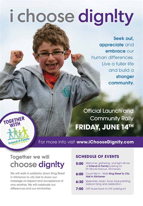 Extend A Family Kitchener by Past Events I Choose Dignity