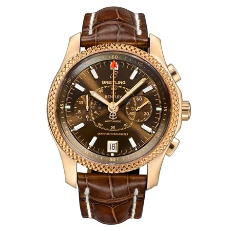 rose gold bentley pre owned breitling mark vi limited edition chronograph