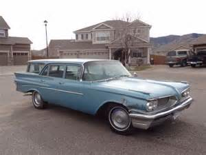 1959 Pontiac Wagon 1959 Pontiac Safari Station Wagon Survivor Classic