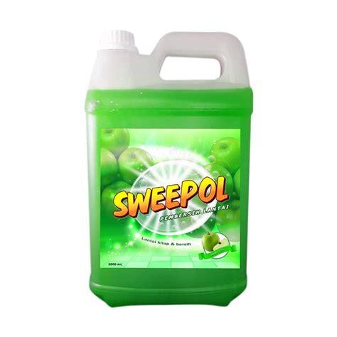 Pembersih Lantai 4 Liter Jual Sweepol Apel Sabun Pembersih Lantai 5 L
