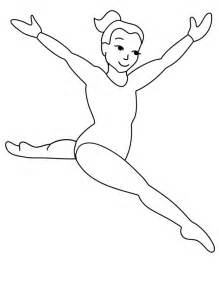 gymnastics coloring pages printable gymnastics coloring pages coloring me