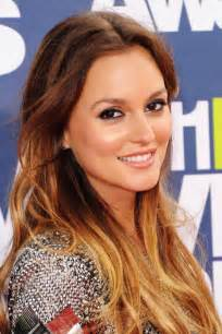 leighton meester hair color the ombre hair color trend would you