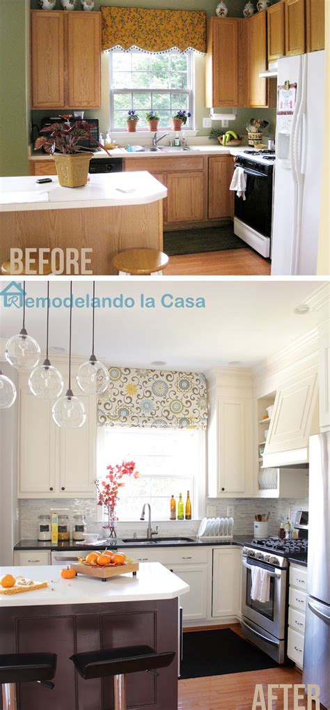Kitchen Makeover On A Budget Ideas by Kitchen Makeover Remodelando La Casa