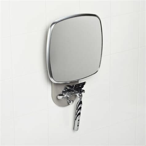 anti steam bathroom mirror our ultra practical anti fog shower mirror beats the heat