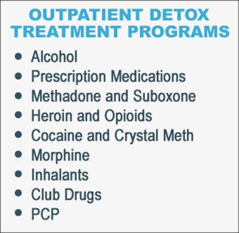 Meth Detox Programs by Outpatient Detox Treatment Programs Las Virgenes