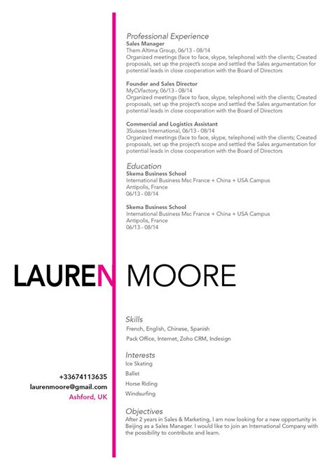 Great Cv Templates by Great Cv Template Uk Gallery Certificate Design And Template