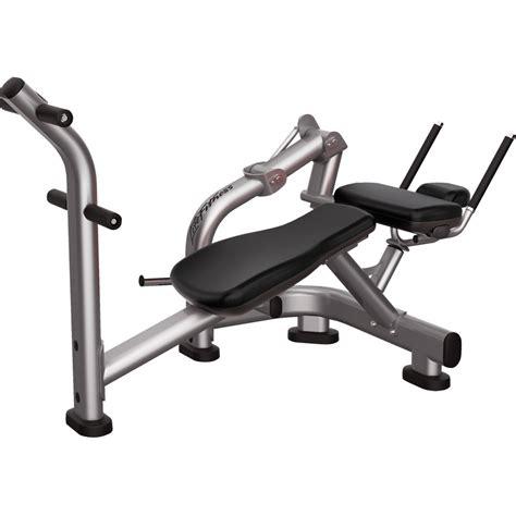ab bench  crunch machine signature series life fitness