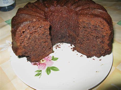 schoko karamell kuchen schoko karamell kuchen rezept mit bild bross