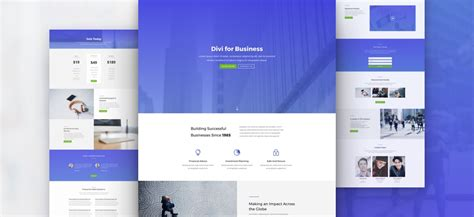 layout divi wordpress download an amazing free divi business layout pack
