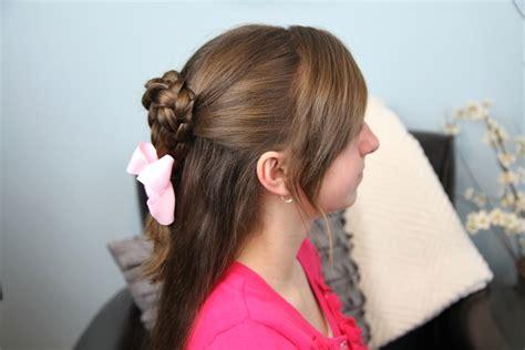 cute girl hairstyles valentines twist braided heart valentine s day hairstyles cute