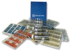 capacitor kit farnell ccc 31 capacitor kit ceramic 1 flap fl24 10 24 values 1pf to 680pf 600 farnell uk