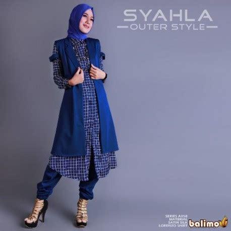 Celana Muslim Chassy Benhur syahla benhur baju muslim gamis modern