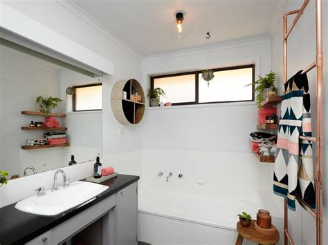 bathroom paint bunnings 3 beautiful diy bathrooms for different budgets
