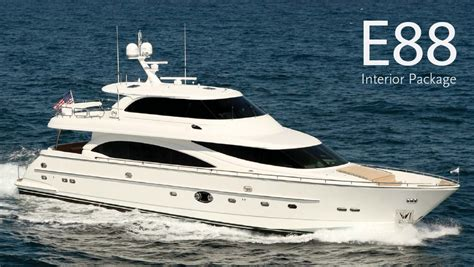 e boat yacht for sale boat review horizon yachts e88 26 north yachts