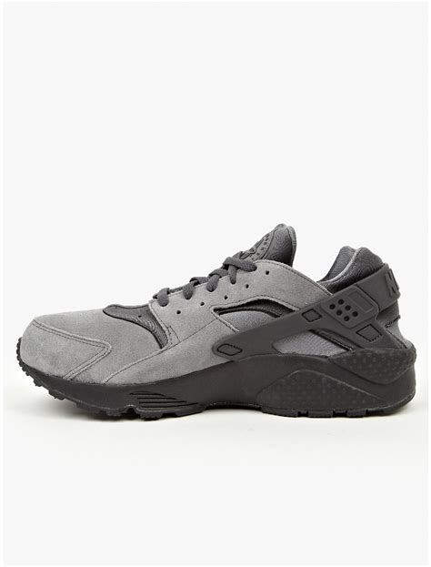 mens huarache sneakers nike mens grey air huarache sneakers in gray for grey