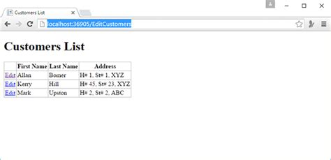 tutorialspoint asp net asp net wp edit database data