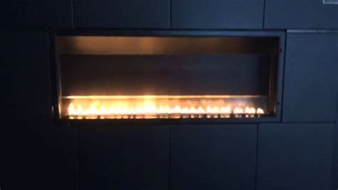 Vent Free Linear Fireplace by Boulevard Vfsl30 Slimline Linear Vent Free Fireplace