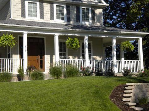 front porch landscaping ideas pinterest