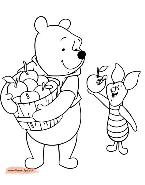what color is winnie the pooh winnie the pooh friends coloring pages 5 disney