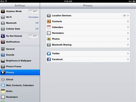 how to your to on the pad image gallery settings app
