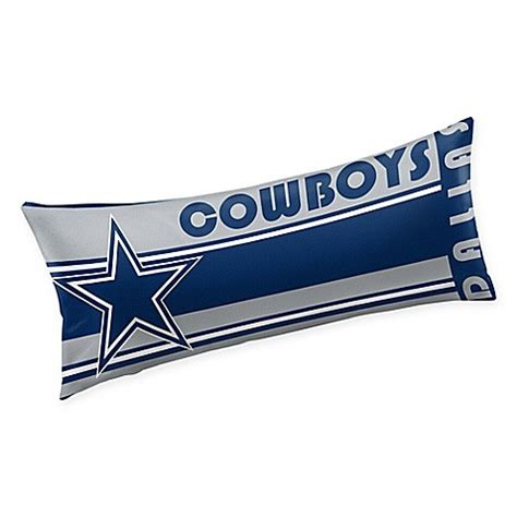 bed bath and beyond dallas nfl dallas cowboys body pillow bed bath beyond
