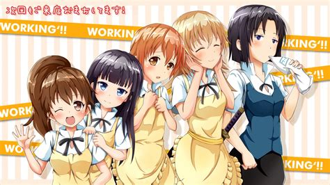 anime working working full hd wallpaper and background image