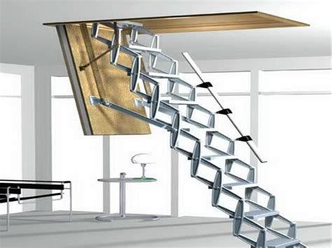 foldable stairs simple methods to locate and heavy duty attic stairs