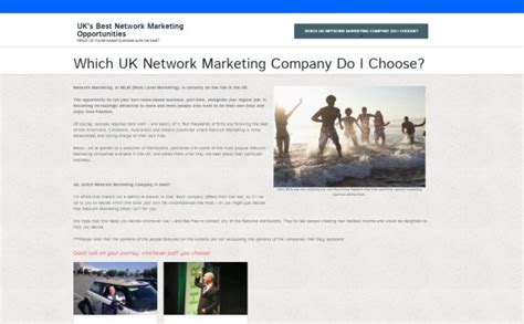 best network marketing companies self managed website cms south content