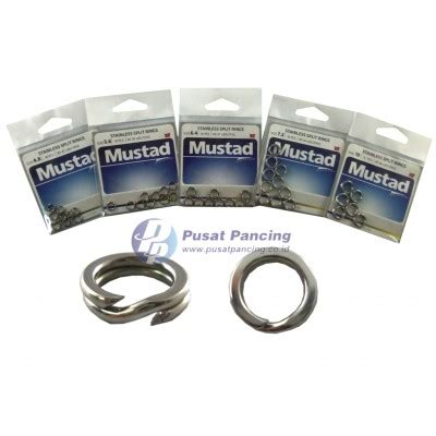 Mustad Stainless Split Rings mustad stainless split rings ma033