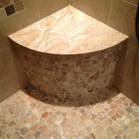 shower corner bench corner bench in shower master bathroom ideas pinterest